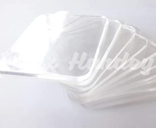 10 Super Sticky Silicone Gel Pads Clear, Anti-Slip Gel Pads Auto Gel Holders, Durable Washable Cell pad (Transparent)