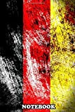 Notebook: Die Bundesflagge , Journal for Writing, College Ruled Size 6' x 9', 110 Pages