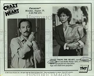 1991 Press Photo Actors Christine Lahti and Ruben Blades in Crazy From The Heart