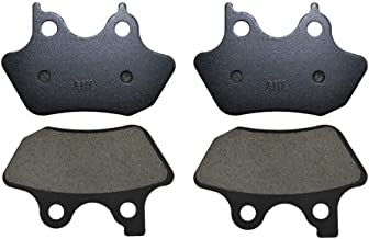 AHL Semi-metallic Front & Rear Brake Pads Set for Dyna FXDi 35 35th Anniversary Super Glide 2006