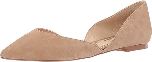 Sam Edelman Wohommes Wohommes Rodney Ballet Flat, Oatmeal Suede, 8 Medium US  choix à bas prix