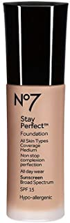 Boots No7 Stay Perfect Foundation (Latte)