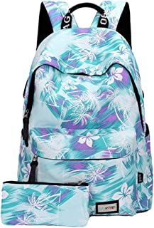 PengGengA Enfant Cartable College Sports Toile Fille Sac /À Dos Scolaire Camping
