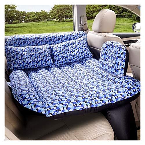 Jinan 140 * 88CM Lathe Car Mattress PVC Rear Seat Cover Child Car Air Mattress Travel Bed Air Mattress (Color : Blue)