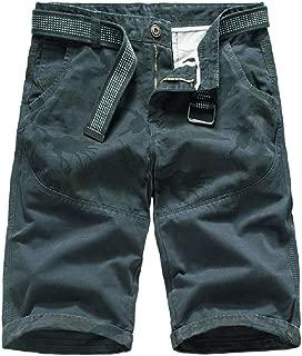 XINHEO Womens Casual Outdoor Camo Pure Cotton Plus Size Cargo Shorts