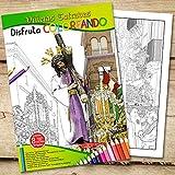 Disfruta coloreando Viñetas Cofrades 1