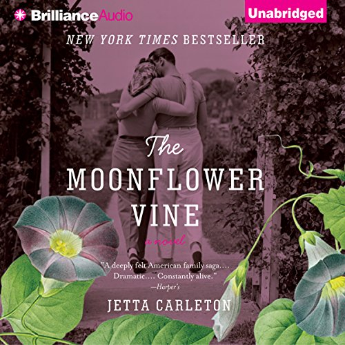 The Moonflower Vine audiobook cover art