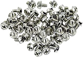 Sponsored Ad - XJS Toothed Hex 6/32 Screw 6-32 Computer PC Case Hard Drive Motherboard Mounting Screws. (50 Pcs)