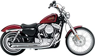 Cobra Speedster Slashdown Exhaust (Chrome X-Long) Compatible with 12-16 Harley FLD