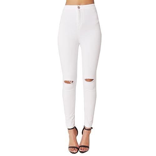 ef6931e414d0d Lily Lulu Apparel disco high waisted skinny jeans pants acid wash denim  skinny jeans White Skinny