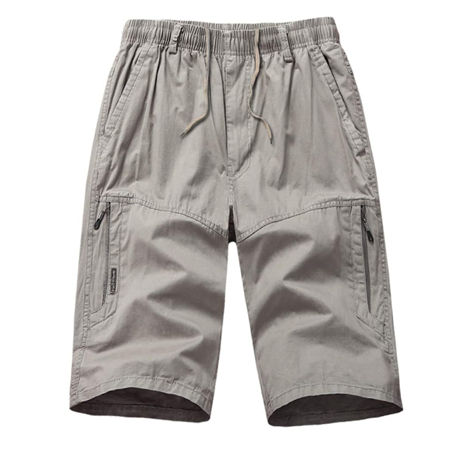 Mens Shorts Cargo Big and Tall Loose Fit Mens Shorts Casual 7 Inch with Pockets