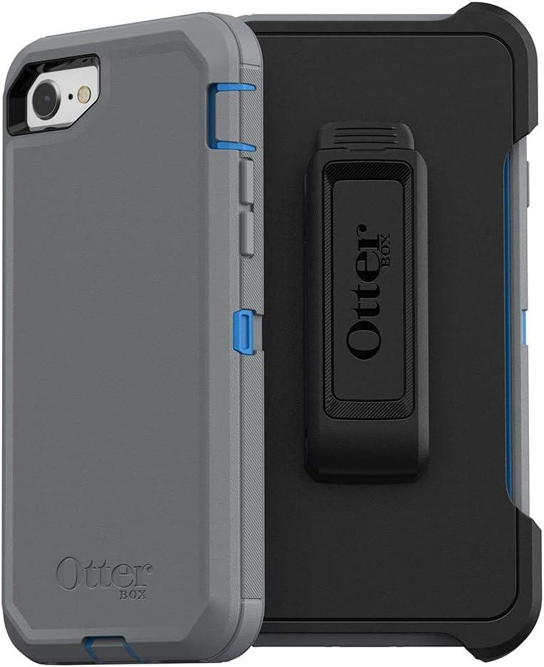 OtterBox Defender Series Case for iPhone SE (2nd gen - 2020) - Marathoner (Cowabunga Blue/Gunmetal Grey)