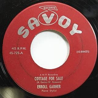 ERROL GARNER 45 RPM COTTAGE FOR SALE / I'M IN THE MOOD FOR LOVE