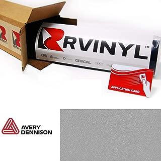 Avery SW900 803-M Gloss Metallic Silver Supreme Wrapping Film Vinyl Vehicle Car Wrap Sheet Roll - (12
