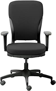 GODREJ INTERIO Polyester Ergonomic Motion High Back Matte Finish Adjustable Armrest Executive Chair Suitable for Work from...