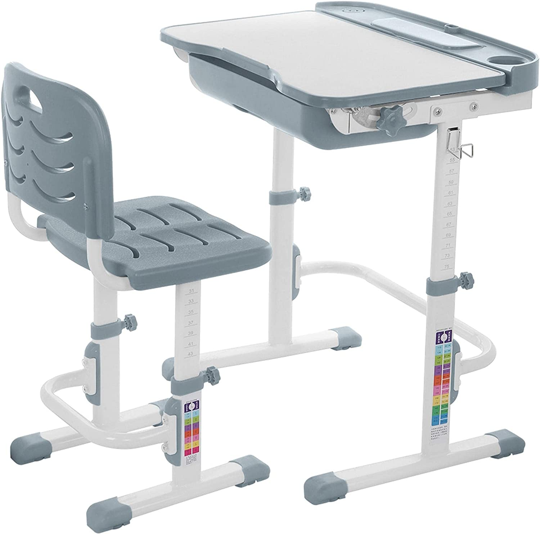 DD-upstep Kids Detroit Mall Desk and Chair Set Childs Discount is also underway Adjustable - Stu Height