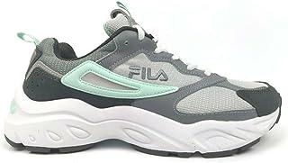 Fila Women's Recollector Leather Mesh Sneaker Walking Shoe