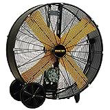 42 inch floor fan - Master Professional High Capacity Belt-Drive Barrel Fan, 36-inch, 2 Speed, OSHA Compliant - MAC-36-BDF
