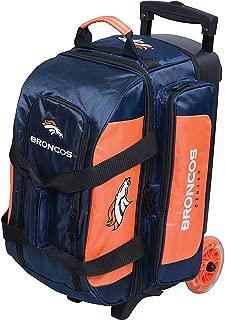 KR Strikeforce Licensed NFL Double Roller Bowling Bag