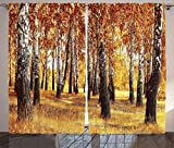 ABAKUHAUS Bosco Tenda, Autumn Leaves Design, Salotto Camera da...