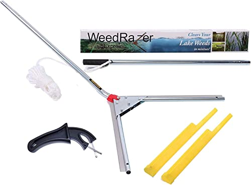 Weed Razer Express - Aquatic Weed Cutter for Lakes, Ponds & Beaches