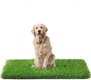 Fezep Artificial Grass, Dog Pee Pads, Professional Dog Potty Training Rug, Large Dog Grass Mat with Drainage Holes, Pet Tu...