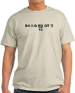 B4 Alpha Q RU/16 QT pi 100% Cotton T-Shirt, White