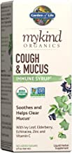 Garden of Life Elderberry Zinc Support for Adults Kids 12 and Older, mykind Organics Cough & Mucus Syrup with Ivy Leaf, Vi...