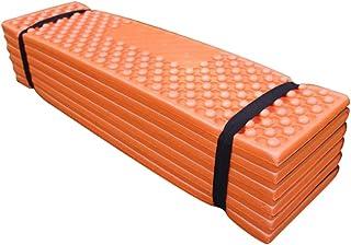 Perfeclan Outdoor Hiking Sport Camping Mattress Dinning Cushion Seat Mat Foam Seat Pad - Orange, 57x15.5x13cm