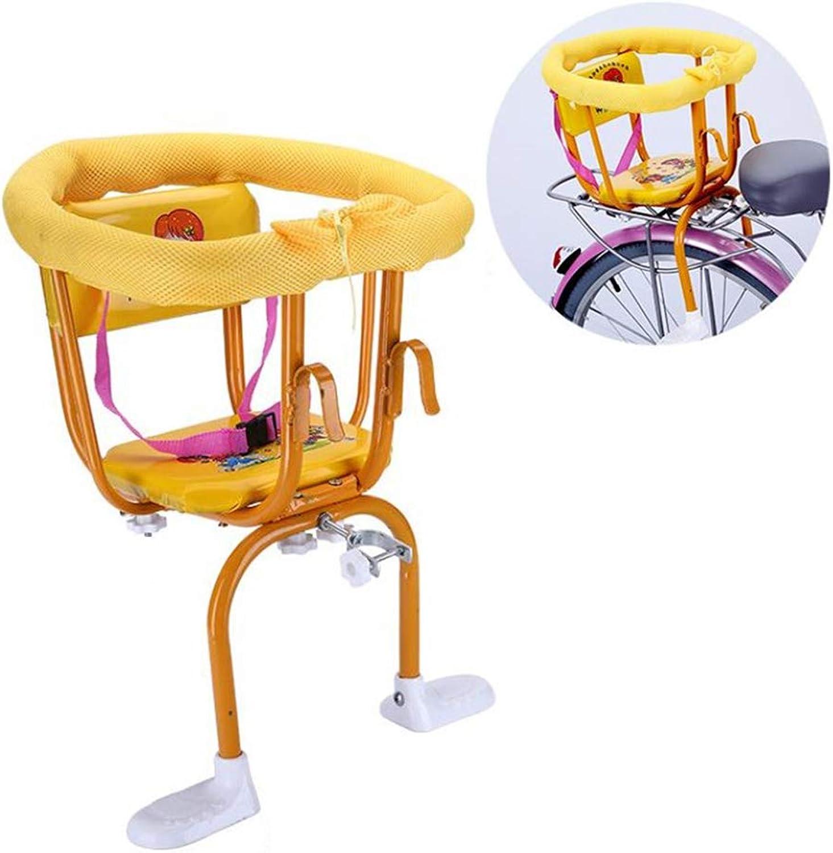 diseños exclusivos Sillín de Bicicleta Asiento de Seguridad Seguridad Seguridad para Niños, Niños, portaequipajes, sillín, sillín de Bicicleta con Pedales y cinturón de Seguridad  orden en línea