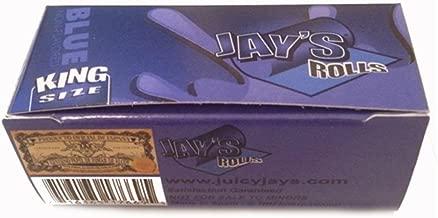 JAY' S NON-FLAVORED blu King Size rotoli–12rotoli da Trendz