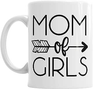 Moson Mom Of Girls Mother's Day Mummy Mum Mother Ceramic Novelty Mug
