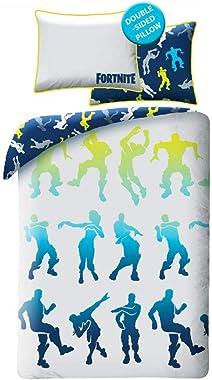 Epic Games Fortnite Bed Linen 100% Cotton Duvet Cover 140 x 200 cm + Pillow Case