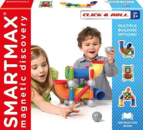 SMARTMAX SMX404 Magnet-Konstruktionsbaukasten, Mehrfarbig