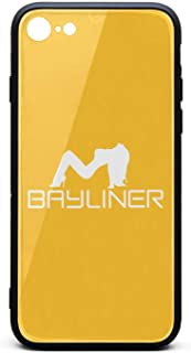 SDHAK Bayliner-Logo-x-White- Phone Case for iPhone 7/8, Shock-Absorption Hard Back Cover Bumper Protective