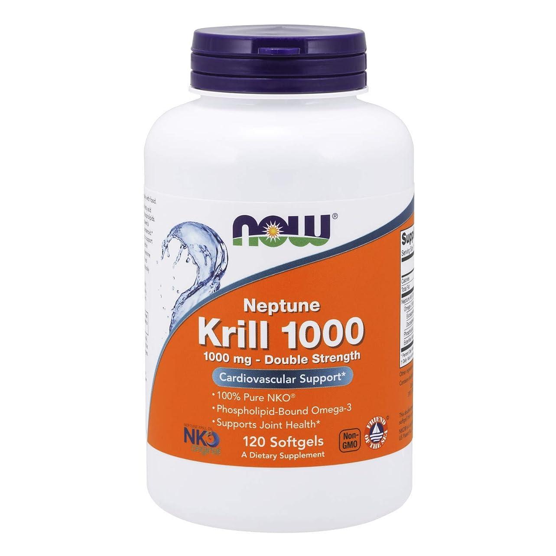 ヘルパーバルコニー空白Now Foods, ネプチューンクリル 1000、1000 mg、ソフトジェル120粒 [海外直送品]
