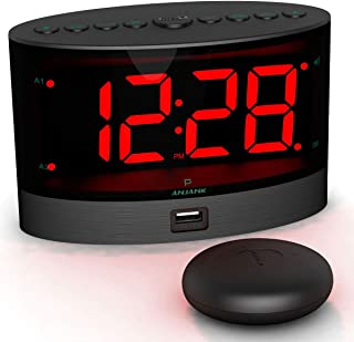 Best alarm bed shaker Reviews