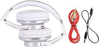 SODO Twist Out Speaker Bluetooth Headphone, Silver - MH1