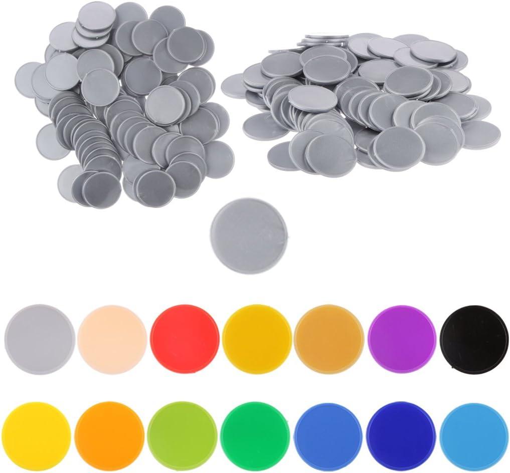 sumicorp.com Spielzeug Spiele Blau Hellery 100pcs Bingo Chips ...