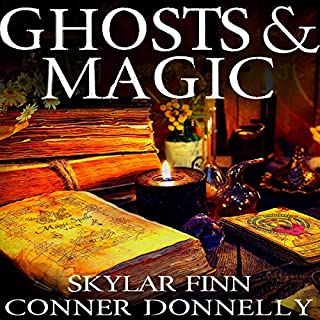 Ghosts and Magic Boxset audiobook cover art