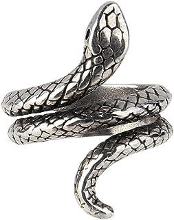 Beauty7, anelli regolabili a forma di serpente peruomo e donna