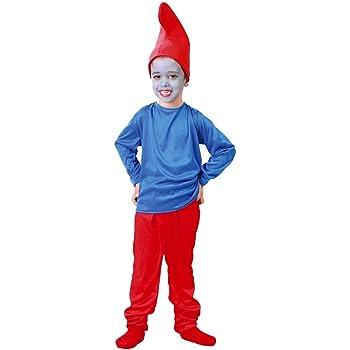 Disfraz de Papá Pitufo (10-12 años): Amazon.es: Juguetes y juegos