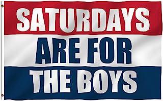 Saturdays for Boys Flag Fraternities Parties Dorm Room Balcony Decor Banner College Flags 3x5 Feet