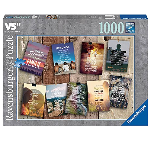 Ravensburger Puzzle  19706 - Visual Statements - 1000 Teile