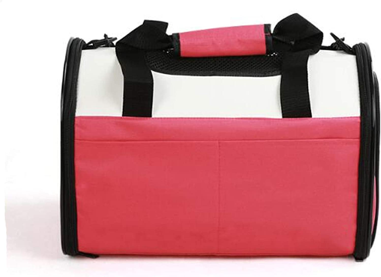 Portable Dog Backpack Pet Bag Multifunzione Folding Cat Travel Bag Shoulder Bag Oxford