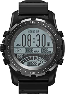 CakCity Men's Digital Sports Watches Wrist Watches for Men Hiking Watches with Compass, GPS, Pedometer, Alarm, Backlight