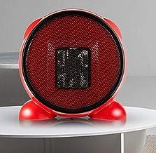 Yuan Dun'er Calefactor Aire Caliente Pared,Mini Calentador de Ventilador de Mesa eléctrico Calentador de Aire PTC rápido Calentador de Ventilador de cerámica portátil pequeño PTC-Rojo