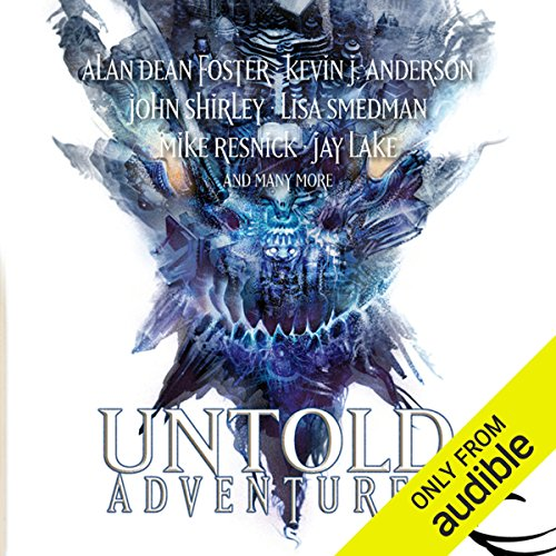 Untold Adventures     A Dungeons & Dragons Anthology              By:                                                                                                                                 John Shirley,                                                                                        Alan Dean Foster,                                                                                        Lisa Smedman,                   and others                          Narrated by:                                                                                                                                 Michael McConnohie                      Length: 12 hrs and 48 mins     8 ratings     Overall 4.4