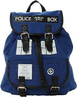 Doctor Who Dr. Blue Tardis Backpack