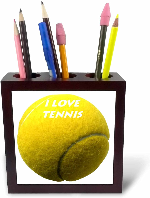 3dRosa PH 33190 _ 1 Love Tennis-Tile Stifthalter, 12,7 cm B006DS4CYS   Deutschland